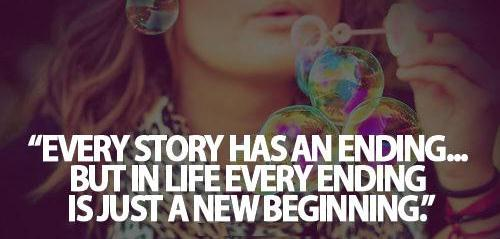 EVERY STORY HAS ENDING