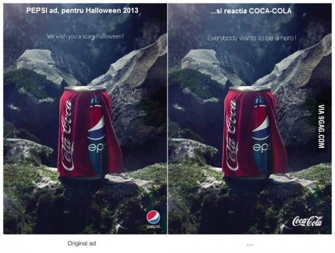 pepsi_Ad_coca cola reaction