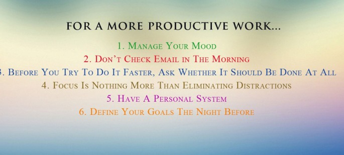 productive work